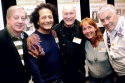 Dancers Over 40: Ken Urmston, John Sefakis (President), Ron Stratton (Vice President) Photo
