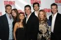 Cast of The American Pilot: Aaron Staton, Connie Fletcher, Anjali Bhimani, Josh Casaubon, Geoffrey Arend, Amanda Rowan, and Brian Bielawski