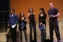 Zach Shaffer, Sharon Michaels, Katie Dietz, Angela Lin and Arnie Mazer