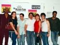 RuPaul, Ana, Seth, Raul, Annie, Harris and Darius