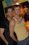 Michael Lucas and Spencer Quest