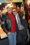 Randy Jones of The Village People and artist Robert Richards