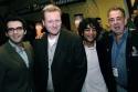 Joe Iconis, Robert Maddock, Reza Jacobs, and Marty Bell Photo