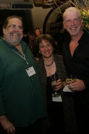 Anthony Barnao, Eleanor Albano, and Ron Abel