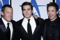 Lance Armstrong, Jake Gyllenhaal and Robert Downey Jr.