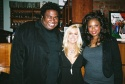 Michael-Leon Wooley, Catherine Hickland and Jennifer Hudson
