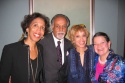 Denise Jefferson of Alvin Ailey, Kent Drake, Mercedes Ellington and CTFD President Cynthia Fischer