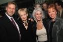 Barry Kleinbort, Penny Fuller, Jamie DeRoy and Elaine Orbach Photo