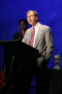 Roger Danforth (acceptor of the Theatre Arts Education Award to an Organization--Drama League Directors Project)