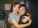 Diana DeGarmo and Tabitha Fair