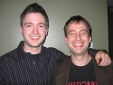Parting shot of composer and lyricists Lucian Piane and Zeke Farrow