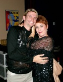 Stuart Moulton of The Austin Cabaret Theatre with Amanda McBroom