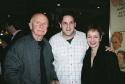 Terrence McNally, David Babani and Lynn Ahrens Photo
