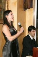 """Law & Order"" star Milena Govich and Ben Cohn"