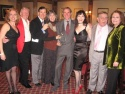 Anna Bergman, Len Cariou, Lee Roy Reams, Julie and Jim Dale, Bebe Neuwirth, Freddie R Photo