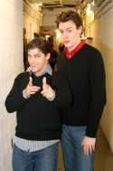 Deven May and Erich Bergen Photo