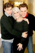 Deven May, Jamie DeRoy and Erich Bergen Photo