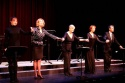 Lynn Collins, Lisa Banes, Angela Lansbury, Harriet Harris and Boyd Gaines receive a standing ovation
