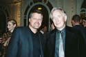 Robert Newman and Alan Rickman
