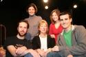 Playwright/actor Keith Boynton, actress Roya Shanks, director and noted cartoonist Sa Photo