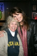 Jazz singer Lodi Carr and Lucie Arnaz