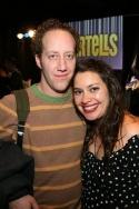 Joey Slotnick and Vanessa Aspillaga