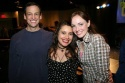Peter Frechette, Vanessa Aspillaga and Alana O'Brien
