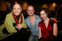 Charles Busch, Carl Andress and Kristen Schaal