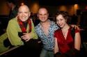 Charles Busch, Carl Andress and Kristen Schaal