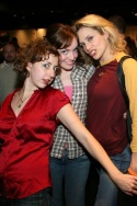Kristen Schaal, Alana O'Brien and Cady Huffman