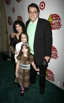 Josh Rosenblum with wife Joanne Lessner and children Julian and Phoebe