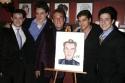 Des McAnuff and tour cast members: Christopher Kale Jones, Erich Bergen, Deven May an Photo