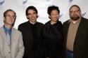 Stephen Kaplin, Ruppert Bohle, Anita Yavich and Allen Moyer Photo