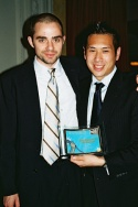 Aaron Jafferis (NYMF Winner of the 2006 Award for Excellence / Most Promising New Musical, Kingdom), and Eric Louie (NYMF Winner of the 2006 Award for Excellence / Most Promising New Musical, Kingdom)