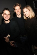 Brendan Milburn, David Korins (Set Designer) and Carolyn Cantor