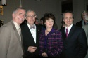 Mark Hoebee (Associate Artistic Director, Paper Mill Playhouse), Members of the NJ State Arts Council and Michael Gennaro