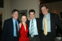 James Brennan, Catherine Brunell, party guest and Nick Wyman