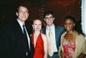 Gregg Edelman, Catherine Brunell, Matt Cavenaugh and Nikki Renee Daniels