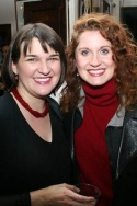 Music director Cathy Venable and Christiane Noll