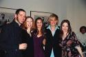The cast of Last Easter, Jeffrey Scott Green (Howie), Veanne Cox (June), Florencia Lo Photo