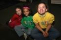 Shout! Fans: Grace DiModugno, Riley Alvaro, and Darcy DiModugno
