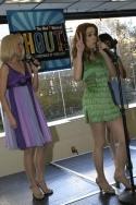 Julie Dingman-Evans, Erica Schroeder and Marie-France Arcilla