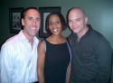 Jim Jones (Senior Advisor to the Kerry Campaign), Laurie WIlliamson and Michael Cerveris
