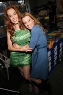 "Erica Schroeder and Nicole Tieri (Scooter Girl - ""American Idol"" - Season 3)"