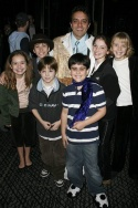 Rommy Sandhu and young Mary Poppins cast members