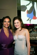 Janelle Anne Robinson (Mrs. Corry) and Ashley Brown Photo