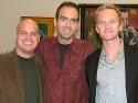 Jayson Raitt, David Kirshenbaum and Neil Patrick Harris