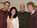 David Kirshenbaum, Sarah Stiles, Jayson Raitt and Barrett Foa