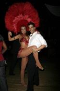 Irene Aram and Raymond Del Barrio