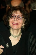 Betty Comden attending the opening night of the revival of Wonderful Town on November 23, 2003